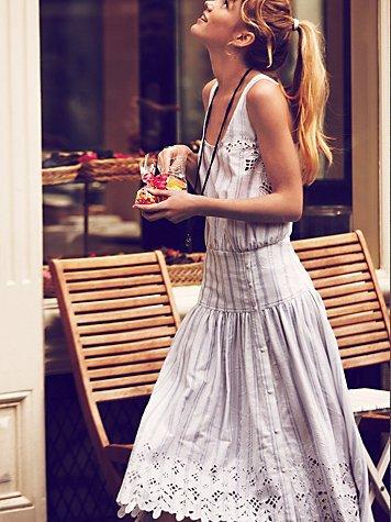 P New Romantics Pantry Stripe Dress