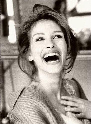 julia smile