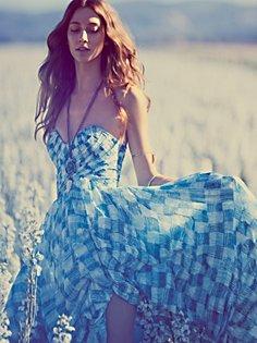 crossing boundaries maxi dress