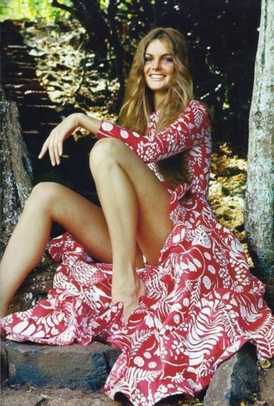 oscar de la renta 1970 Jean Rosemary Shrimpton