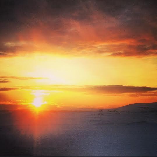 sunrise iceland JBD 2014